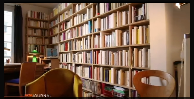 Capture d'écran d'un reportage d'Arte