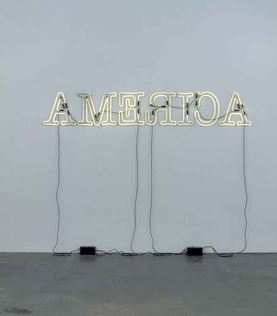 Rückenfigur, 2009. Collection Whitney Museum of American Art, New York. © Glenn Ligon.