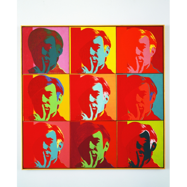 Andy Warhol, Shadows, 1978-79. Photo: Bill Jacobson Studio, New York. Courtesy Dia Art Foundation, New York © The Andy Warhol Foundation for the Visual Arts, Inc. / ADAGP, Paris 2015