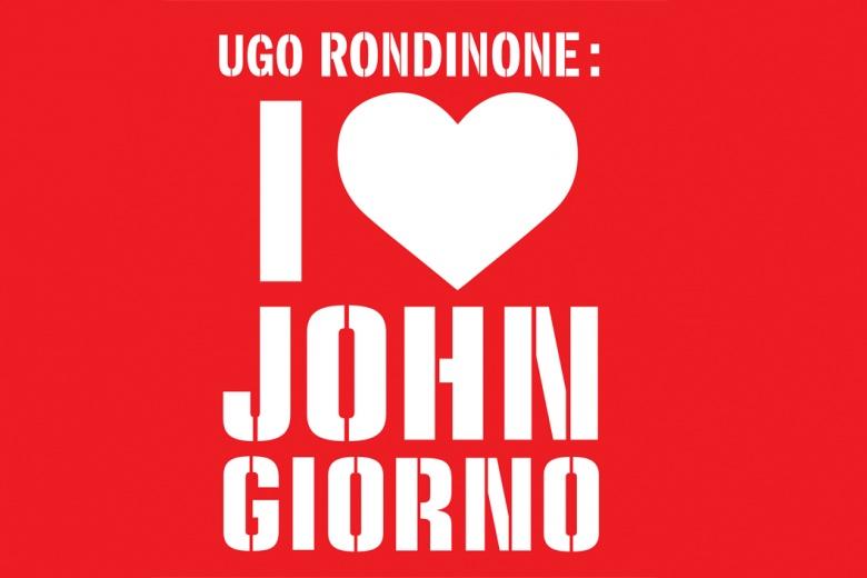 D'après la conception graphique originale de Scott King, I ♥ JOHN GIORNO, 2015. Courtesy de l'artiste.