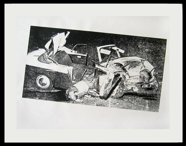 Andy Warhol Car Crash