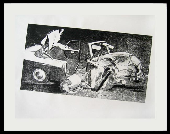 Andy Warhol Car Crash