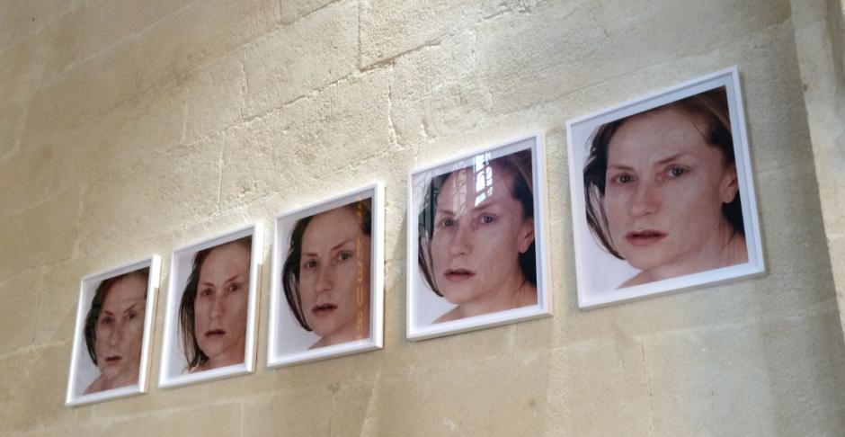 Et comme jamais il n'est de hasard, sinon objectif, ce Portrait of an image de Roni Horn (2005), vu et photographié samedi, visitant le Musée imaginaire de Patrice Chéreau, Collection Lambert (Avignon)
