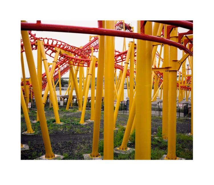 Roller Coaster, Montréal, Canada, 2013