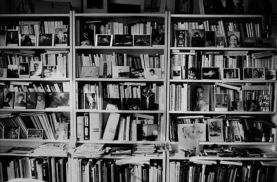 La Bibliothèque © Hervé Guibert