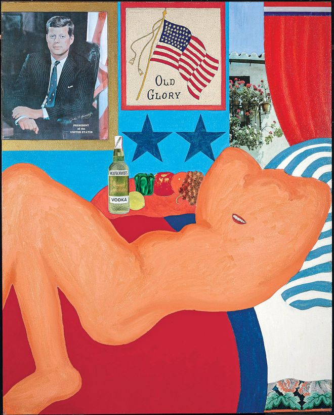 Tom Wesselmann, Great-American-Nude-21-1