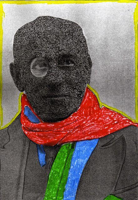 Max Jacob - collage de Liliane Giraudon
