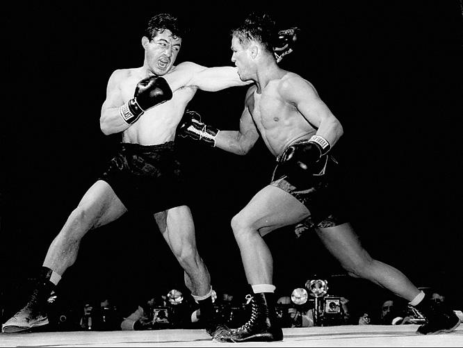 Rocky Graziano vs. Tony Zale, 1947