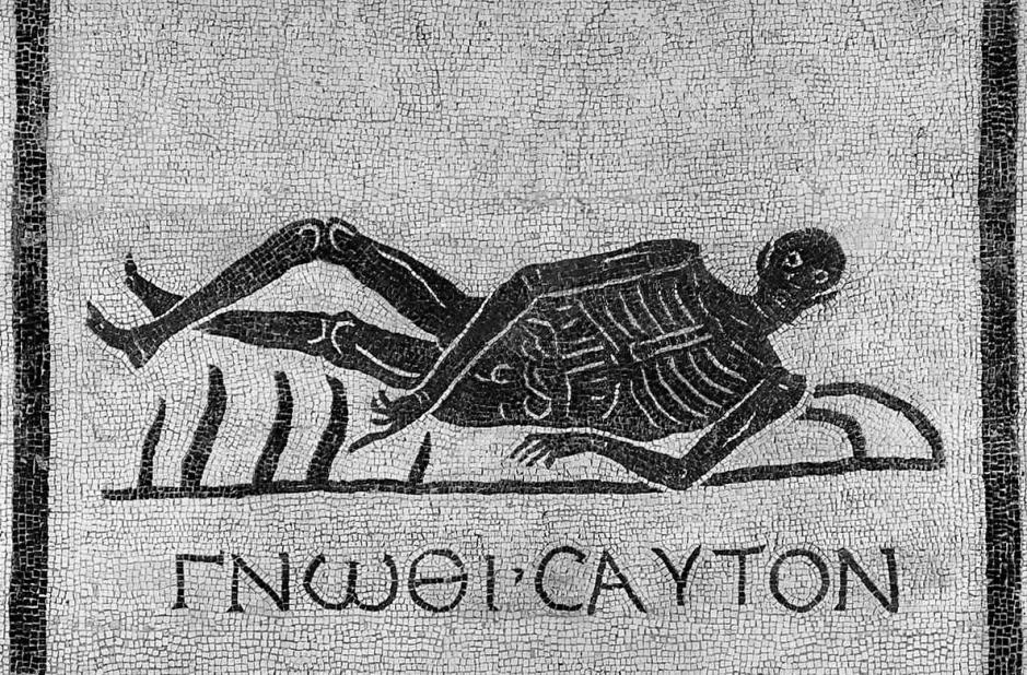 Mosaïque romaine (San Gregorio, Rome)