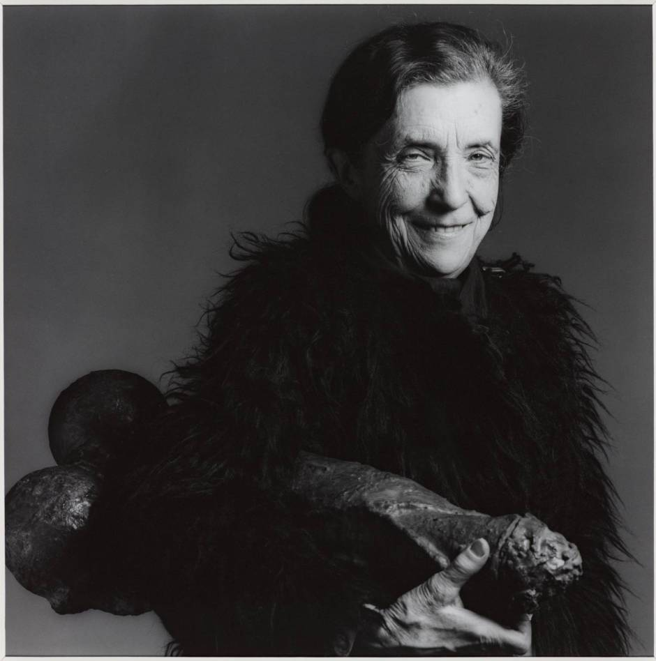 Louise Bourgeois 1982, par Robert Mapplethorpe