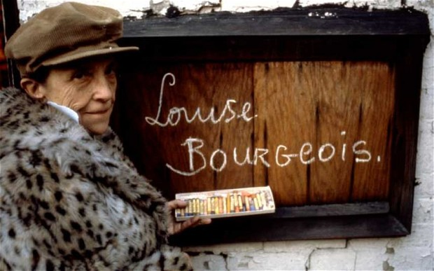 Louise Bourgeois, 1980. Photo: Mark Setteducati © The Easton Foundation