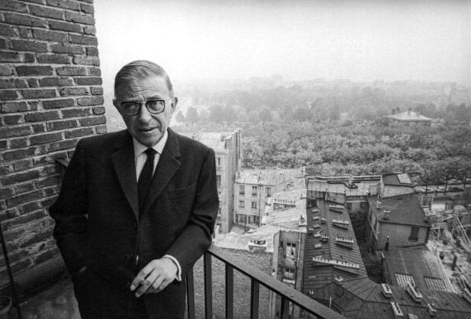 Jean-Paul Sartre (DR)