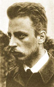 Rainer Maria Rike, 1900