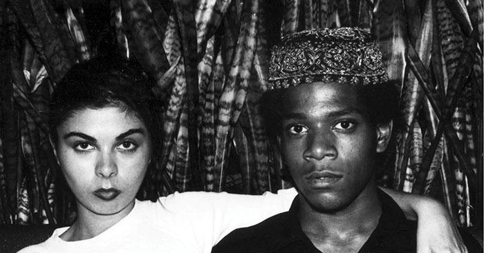Suzanne Mallouk et Jean-Michel Basquiat