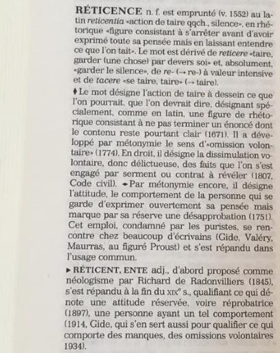 Dictionnaire historique de la langue française, Alain Rey