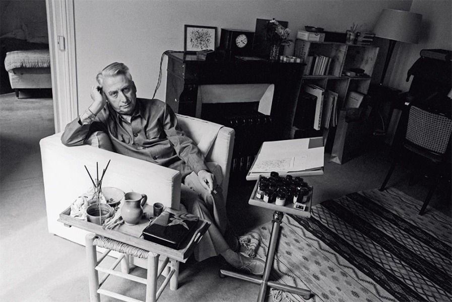 Roland Barthes, 1978 — Photo : Sophie Bassouls / Sygma / Corbis