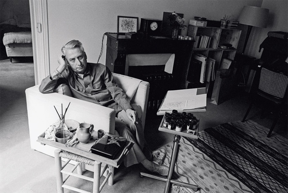 Roland Barthes, 1978 — Photo : Sophie Bassouls / Sygma / Corbis
