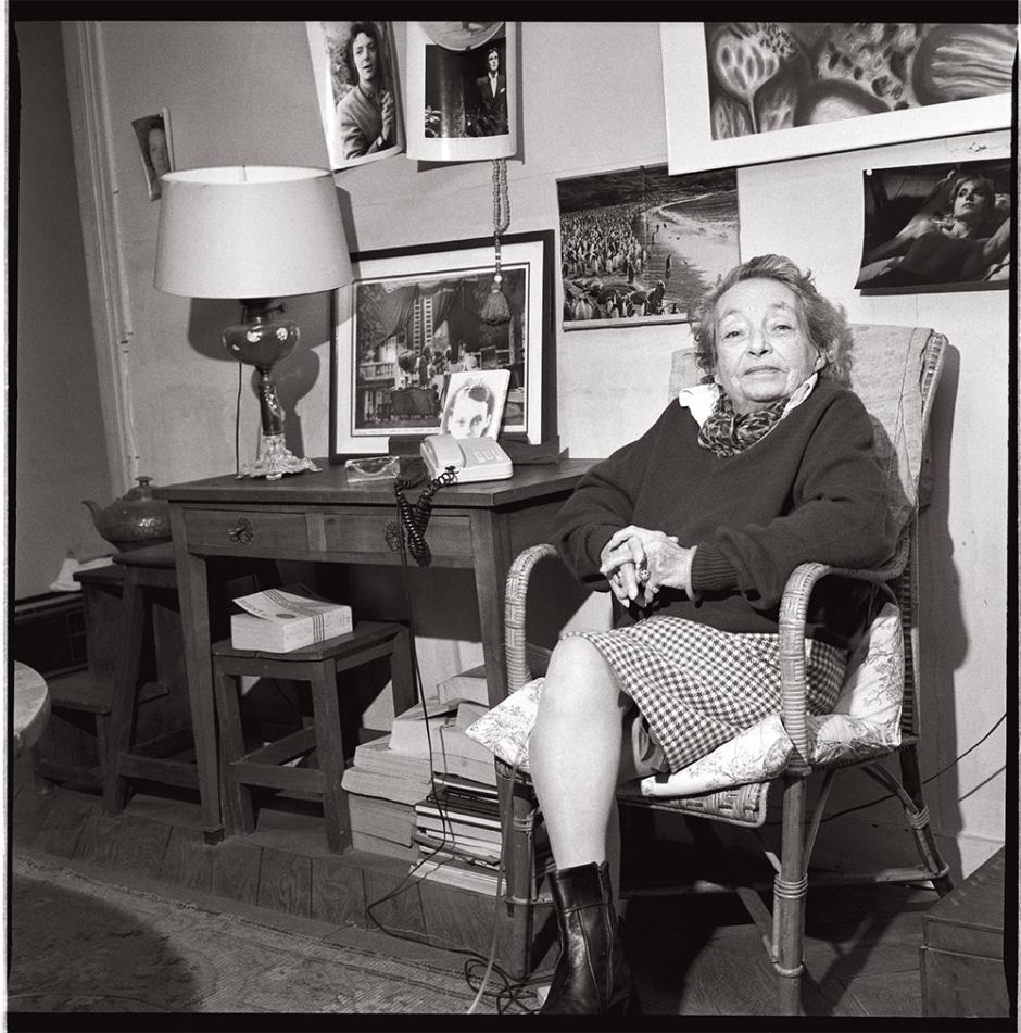 Marguerite Duras © Renaud Monfourny