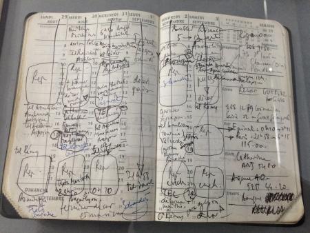 Agenda de Patrice Chéreau (lire article ici)