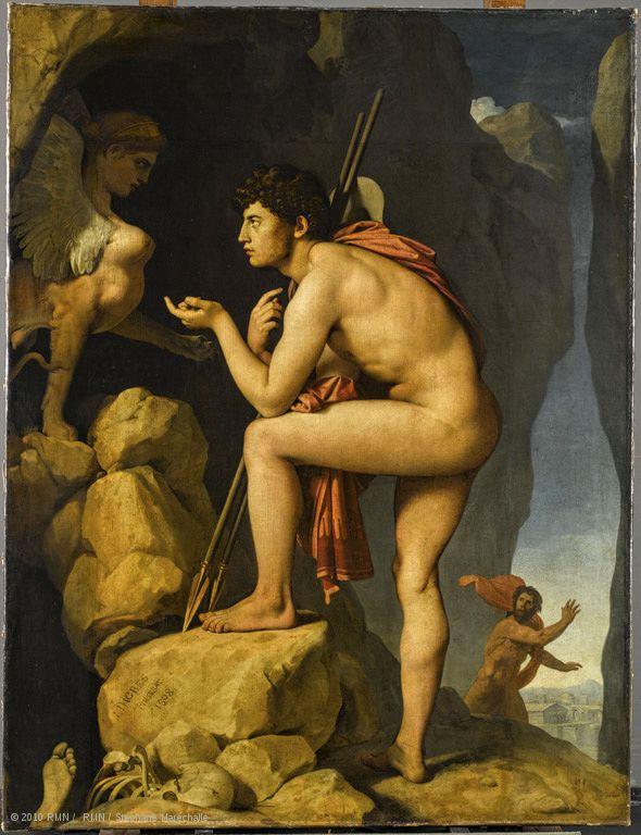 Ingres - Oedipe et le Sphinx
