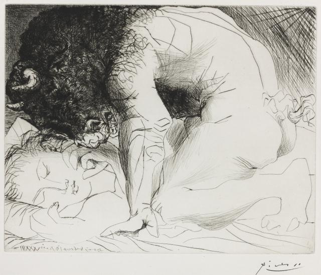Une dormeuse, Picasso, 1933