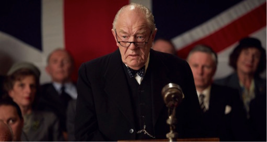 Michael Gambon, dans le rôle de Winston Churchill, photo Daybreak/Pictures