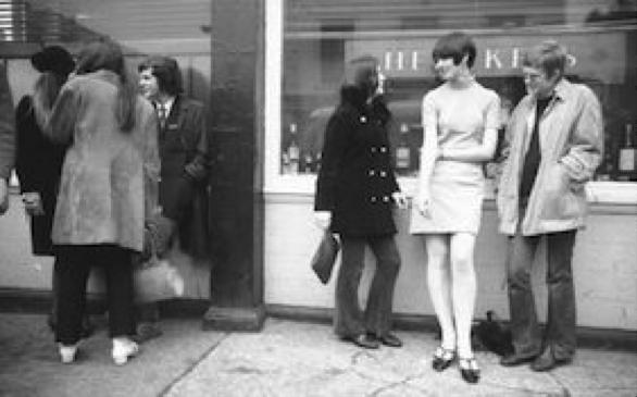 A 1966 street scene by Carlo Bavagnoli