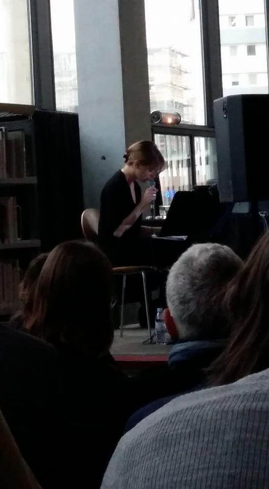 Lecture musicale d'Emmanuelle Richard — Photo : Sophie Quetteville