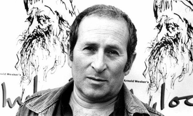 Arnold Wesker en 1989, photo Martin Argles