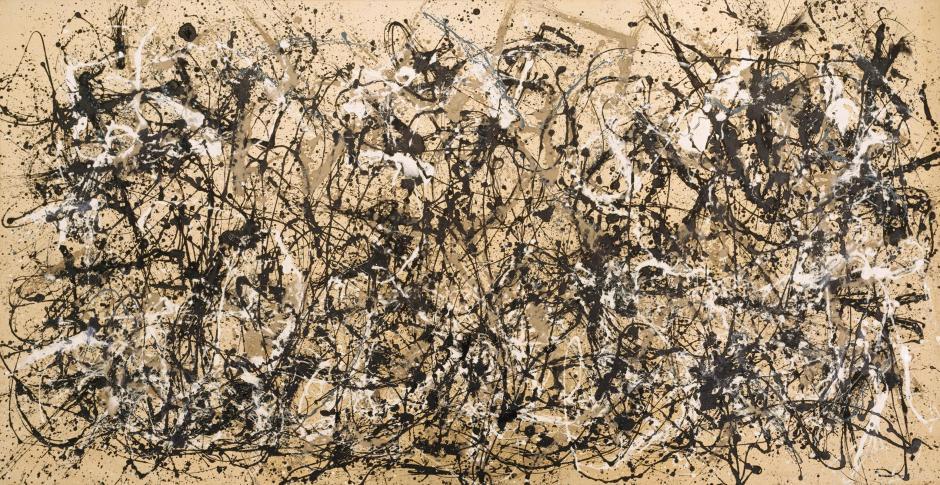 Pollock Autumn Rhythm