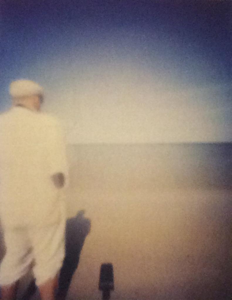 Autoportrait devant mer agitée - in: Nach der Natur / camera obscura