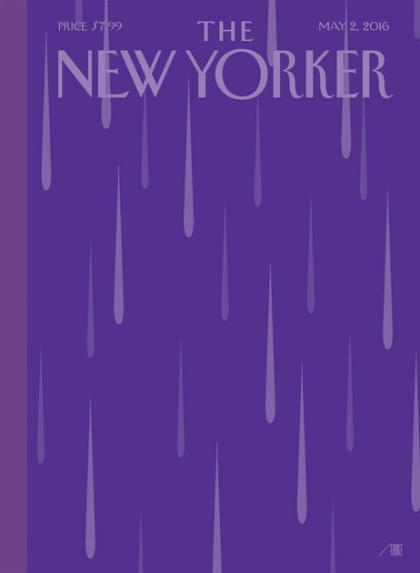 Prince New Yorker Bob Staake