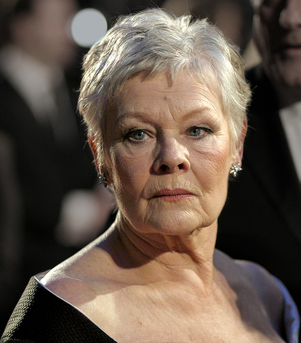 Judi Dench en 2007, photo Caroline Bonarde