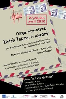 Kateb Yacine le migrant