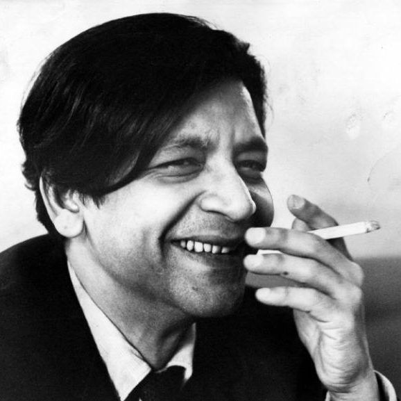 V.S. Naipaul en 1968, photo Hulton Archive