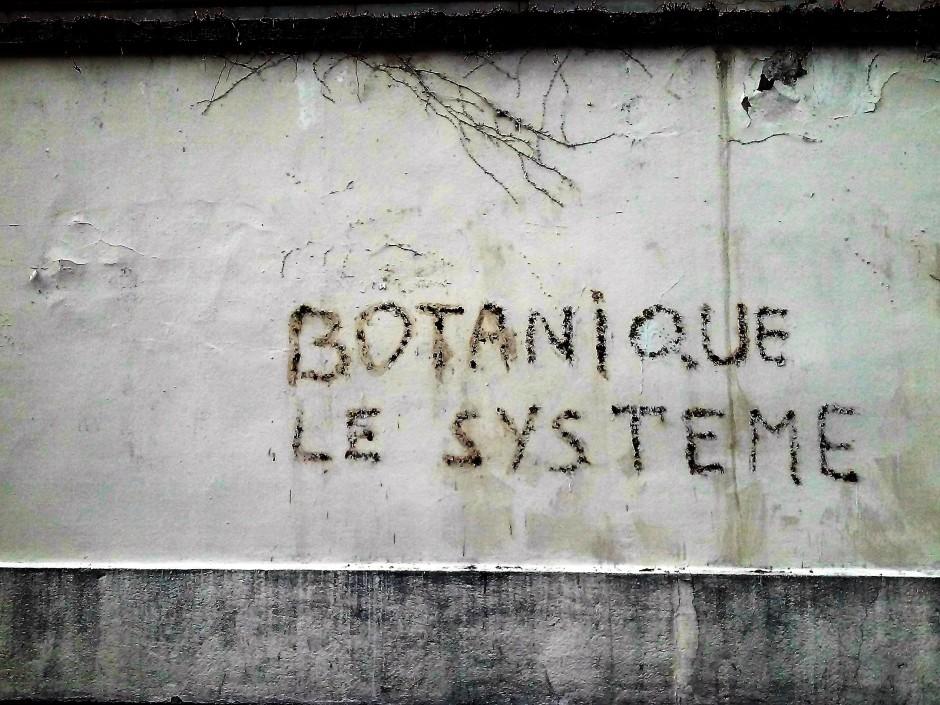 Graffiti, Lyon — Photo : Arno Bertina