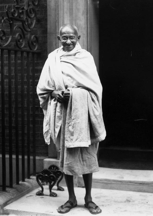 Gandhi à Londres en 1931