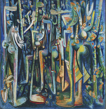 Wilfredo Lam, La Jungle, 1943