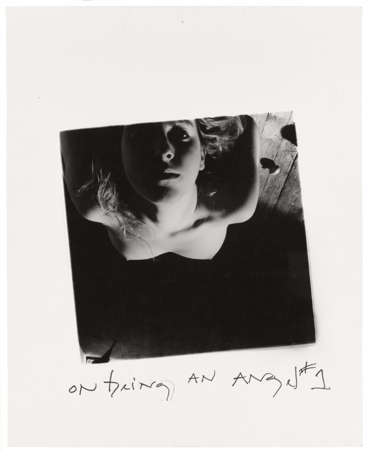 Francesca Woodman, On Being an Angel #1, Providence, Rhode Island, 1977 © George and Betty Woodman