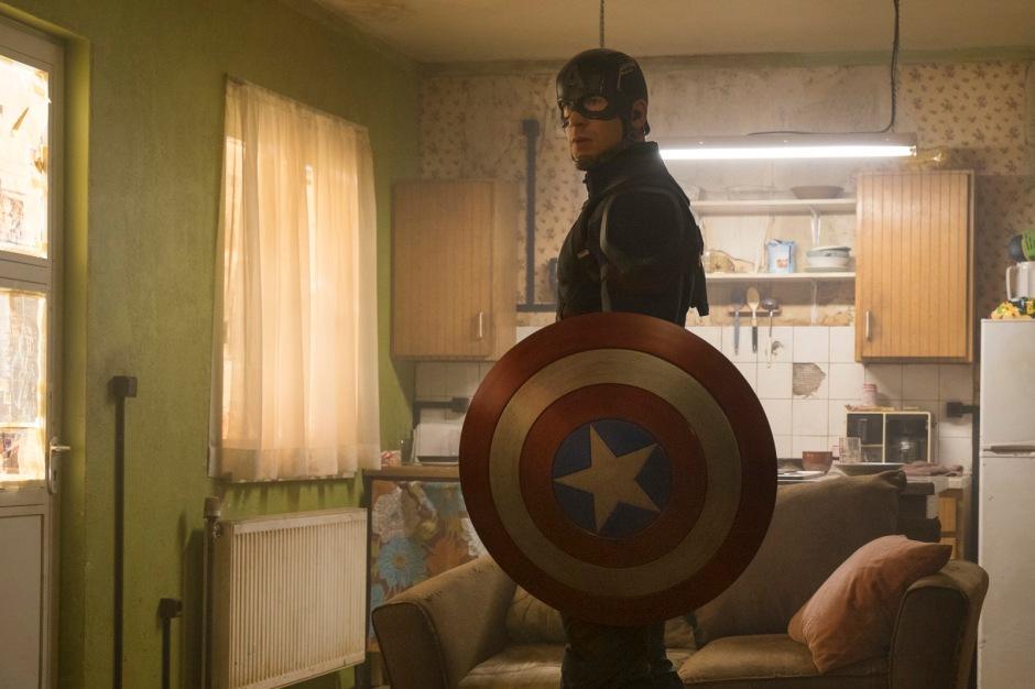 Marvel's Captain America: Civil War Captain America/Steve Rogers (Chris Evans) Photo Credit: Zade Rosenthal