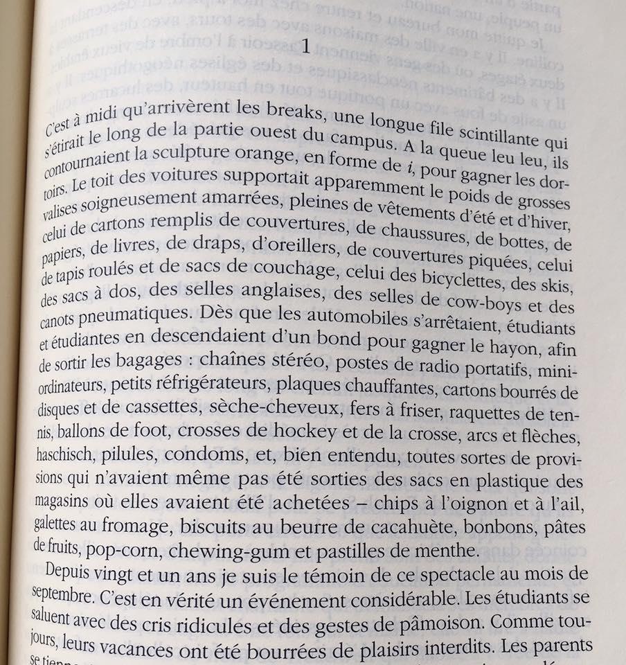 Bruit de fond - Traduction de Michel Courois-Fourcy pour l'édition française du livre, Actes Sud