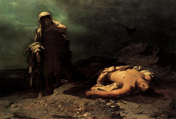 Antigone par Nikiforos Lytras (1865)