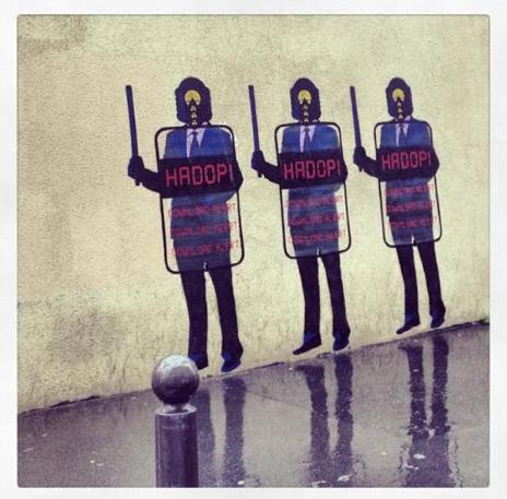Mur parisien © Christine Marcandier