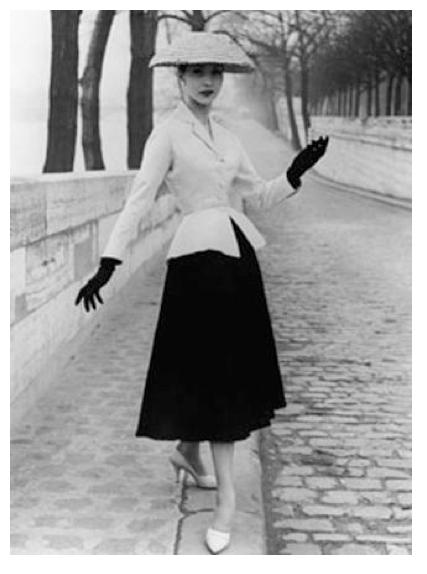 Christian Dior, « Tailleur Bar », 1947