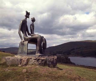 Henry Moore, King and Queen 1952