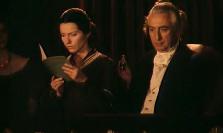 Roland Barthes dans Les Sœurs Brontë d'André Téchiné