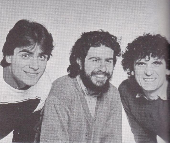 Le trio « La Smorfia » : Enzo Decaro, Lello Arena, Massimo Troisi