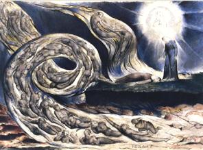 Dante par William Blake