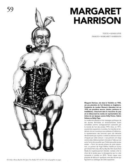 Margaret Harrison, texte par Adam Love , images par Margaret Harrison (Terrain Vague, 2)