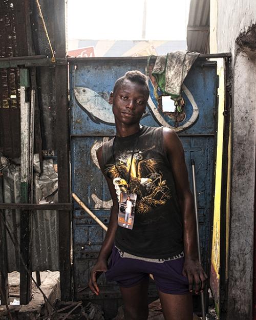 Régis Samba-Kounzi, Raphael, quartier de Kimbanseke, Kinshasa RDC, 2015